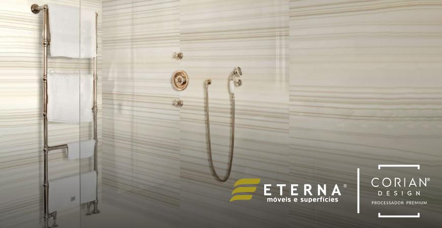 Inovação Corian® - Superficie sólida Sépia Linear