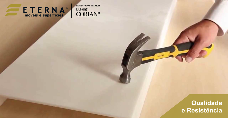 Resistência dos materiais DuPont™ Corian®