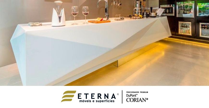 DuPont™ Corian®. Também foi destaque na Casa Cor Rio Grande do Norte 2015